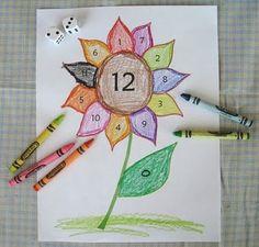 The Paper Pony: Sunflower Mathematics Game