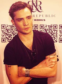 Ed Westwick. He is so unbelievably sexy.