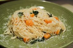 the chew | Recipe  | Michael Symon's Brown Butter Squash And Sage Pasta (and Pasta Pancakes)