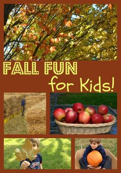#Fall Fun Activities for Kids  I pretty like this pin. Tell me what you think?