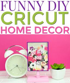 Mother's Day is a great time to show your mom a little extra love.  I bet she could use some more decor for the house or her bedroom too. It's  a Funny DIY Cricut Home Decor idea that any mom with a sense of humor will  enjoy. #cricut #diecutting #diecuttingmachine  #cricutmachine #cricutmaker #diycricut #cricutideas #cutfiles #svgfiles  #diecutfiles #diycricutprojects #cricutprojects #cricutcraftideas  #diycricutideas #mothersday #mothersdaydiycrafts #mothersdaygifts