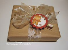 tutorials, gift wrap, clothespin, christma decor, gift tags