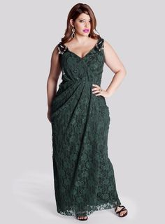 Carolina Evening Gown in Hunter