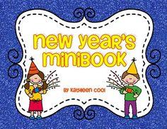 New Year's Mini Book - Freebie