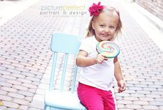 Toddler girl photoshoot  ©Picture Perfect Portrait & Design