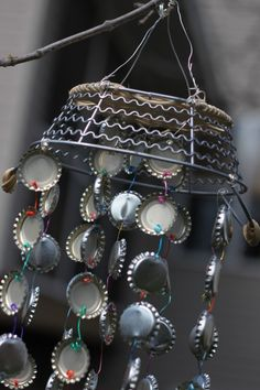 Bottlecap Windchimes