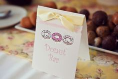 A Donut-Themed Baby Shower
