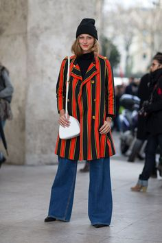 Street Style Paris Fashion Week Fall 2014.