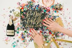 color, nye parti, entertain, new years eve, year eve, kate spade