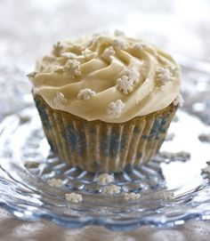 Gluten-Free Vanilla Cupcakes with Vegan Buttercream Frosting