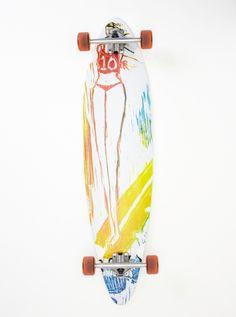 Jewls Skateboard - Roxy