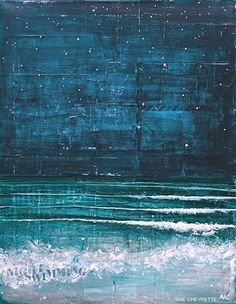 'Night Swimming' | by Mae Chevrette