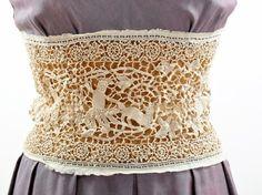lace belt/waist cincher