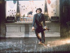 """""""From where I stand, the sun is shining all over the place."""" #SinginInTheRain #GeneKelly"""