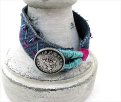 Hand Embroidered Bracelet: Guest Tutorial with Amy Barickman | Sew4Home