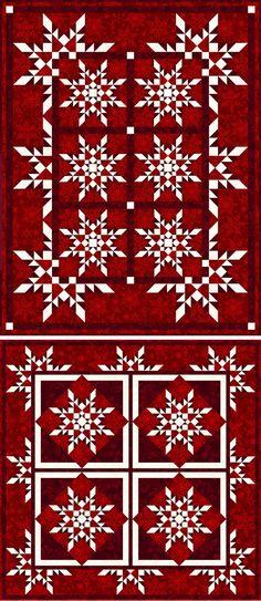 StarFlakes Quilt e Lap Quilts
