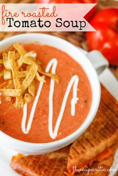 Roasted Tomato Soup Recipe ....