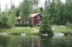 Traditionel swedish house  Snickartorpet, Hagfors - LillaÖrsjön