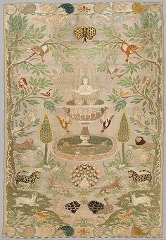 Portuguese, 17-18th century | silk