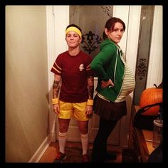 Juno and Paulie from Juno. | 50 Couple Costume Ideas To Steal This Halloween