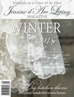 The Winter issue 2014: January edition of Jeanne d'Arc Living magazine