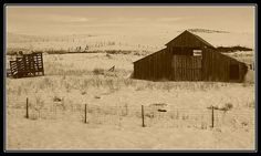 Vintage Barn outside Weiser, Idaho