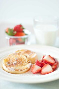 Lemon Souffle Pancake