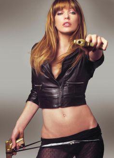 Milla Jovovich - Beautiful. And trained in Brazilian Jiu-Jitsu and various other martial arts