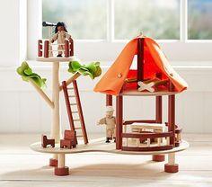 Safari Tent. #potterybarnkids #spring2014