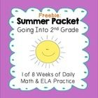 Help prevent the summer slide with this summer packet for the students leaving 1st grade and heading into 2nd grade. My parents love receiving this...