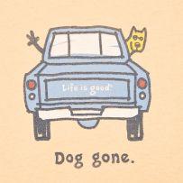 Dog gone.