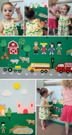 The Busy Budgeting Mama: Our Felt Board- Tutorial & Inspiration Photos