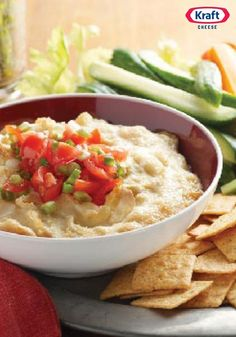 Hot Parmesan-Artichoke Dip — There was a time when this amazing appetizer, in all its hot Parmesan cheese and artichoke goodness, hadn't beeninvented.  Glad we don't live in that time