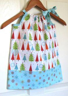 Christmas Pillowcase Dress {Etsy - DIY}