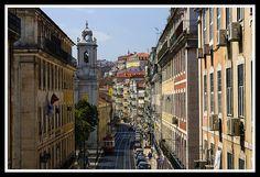 Rua de São Paulo, Cais do Sodré, by Don Marquinho, via Flickr