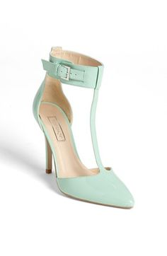 Mint T-Strap Pumps