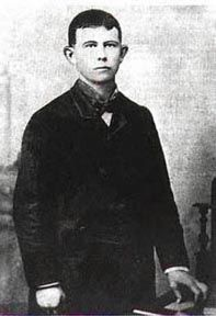 Gratten Dalton 1865-1892  Killed in Coffeyville, Kansas in 1892 during attempted double bank robbery.