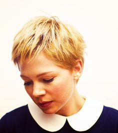Michelle Williams. A lovely little pixie.