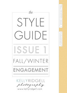 engagement style guide - kelly ridgell