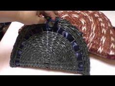 Bolso con tubos de los periódicos. Parte 8 -. YouTube