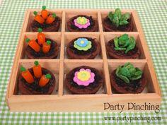 Mini Brownie Garden - Party Pinching
