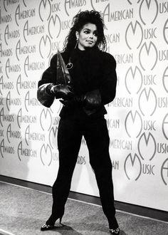 Janet Jackson at American Music Awards.