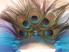 Custom Couture Peacock