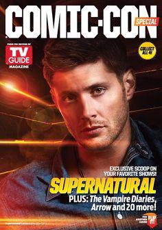 Comic Con Magazine Cover   Jensen Ackles