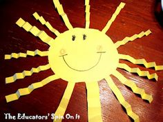 Oh Mr. Sun!  Fun Sunshine Activities & Craft with your child