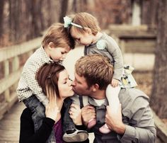 Family photo of 4