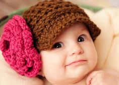 Madeline's Newsboy Crochet Hat Pattern by SunsetCrochet