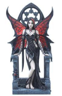 Anne Stokes Aracnafaria Gothic Fairy 9 inch Fantasy Figurine