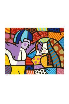 FIRST LOVE by Romero Britto