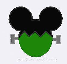 Frankenstein Mickey Shirt for Halloween